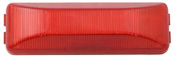 Sealed, Thin Line Two-Bulb Trailer Clearance, Side Marker Light - Red