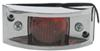 Chrome Plated Trailer Clearance, Side Marker Light - Red