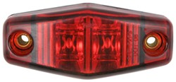 Sealed, Mini LED Side Marker, Clearance or Identification Light, 1 Wire, 2 Diode - Red