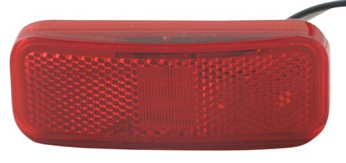MCL44RB_500 rectangular led trailer clearance, side marker light with  at reclaimingppi.co