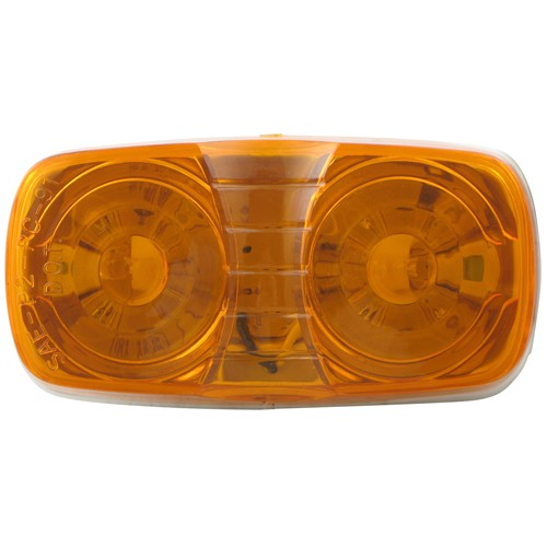 Double Bullseye LED Trailer Clearance and Side Marker Light 2 Wire