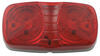 Double Bullseye LED Trailer Clearance and Side Marker Light, 2 Wire, 10 Diode - Red
