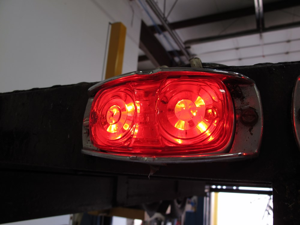 Double Bullseye Led Trailer Clearance And Side Marker