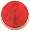 "LED Trailer Clearance/Side Marker Light - 3 Diode, 12 Volts - Sealed - 2"" Round - Red"