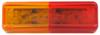 "Sealed, Thin Line LED Fender Clearance Light for Trailers Over 80"" Wide, 10 Diode - Amber / Red"