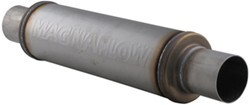 MagnaFlow Stainless Steel, Straight-Through Universal Muffler - Satin Finish