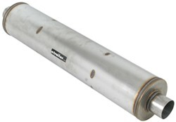 MagnaFlow Stainless Steel, Dual Core, Universal Muffler - XL Turbo Series - Satin Finish