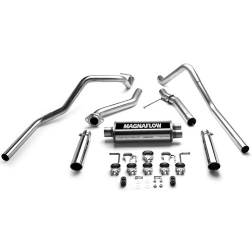 Magnaflow Stainless Steel Catback Exhaust System Gas: Magnaflow Dual Exhaust Kits For Chevy Silverado At Woreks.co