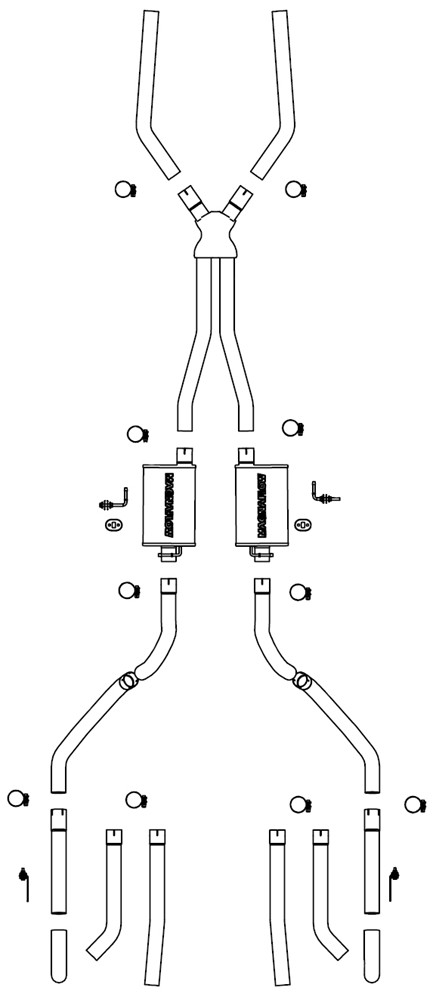 1966 chevrolet chevelle exhaust systems
