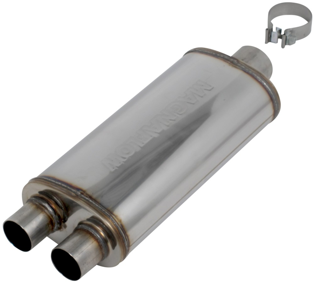 Free Flow Exhaust >> MagnaFlow Stainless Steel Cat-Back Exhaust System - Gas MagnaFlow Exhaust Systems MF16523