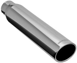 "MagnaFlow 4"" Exhaust Tip - Stainless, Weld-On for 2-1/2"" Tailpipe"