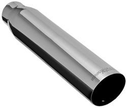 "MagnaFlow 3-1/2"" Exhaust Tip - Stainless, Weld-On for 2-1/2"" Tailpipe"
