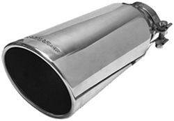 "MagnaFlow 4"" Exhaust Tip - Stainless, Clamp-On for 2-3/4"" - 3"" Tailpipe"