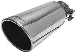 "MagnaFlow 5"" Exhaust Tip - Stainless, Clamp-On for 3-1/2"" Tailpipe"