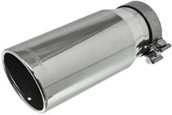 "MagnaFlow 5"" Exhaust Tip - Stainless, Clamp-On for 4"" Tailpipe"