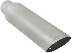 "MagnaFlow 3-1/2"" Exhaust Tip - Stainless, Weld-On for 2-1/4"" Tailpipe"