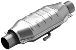 MagnaFlow Stainless Steel Catalytic Converter w/ Dual Air Tubes - Universal
