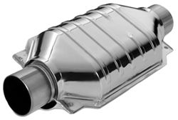 MagnaFlow Polished, Stainless Steel Catalytic Converter - Universal