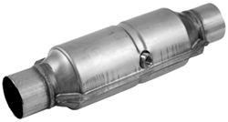 MagnaFlow Heavy Metal Loaded, Stainless Steel Catalytic Converter w/ Mid-bed O2 Port - Universal