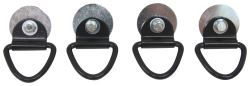 D-Ring Tie-Down Anchors for C-Channels on Let's Go Aero Trailers - Bolt On - 800 lbs - Qty 4
