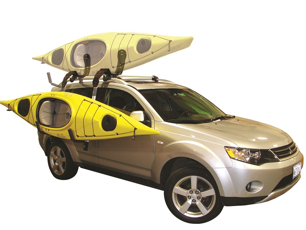 Telos Load Assist For Malone J Style Kayak Carriers Side