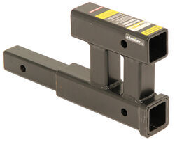 MaxxTow <strong>Dual</strong> <strong>Hitch</strong> Extender for 2&quot; Trailer <strong>Hitches</strong> - 12&quot; Long - MT70070