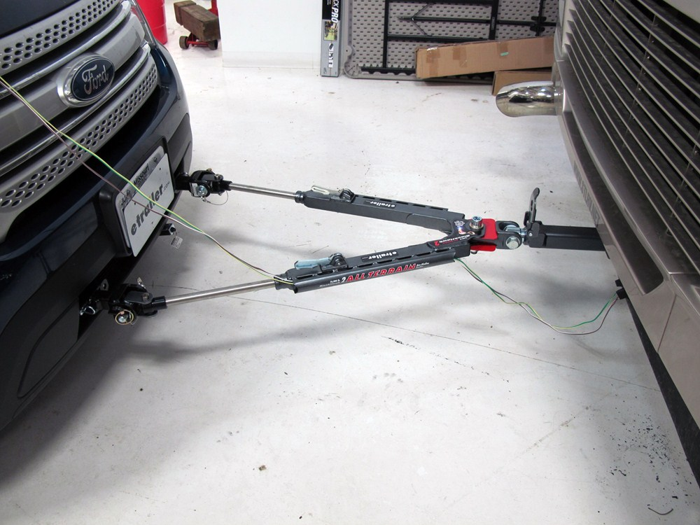 Nissan Patrol Tow Bar Wiring Harness : Nissan frontier maxxtow magnetic tow lights red and