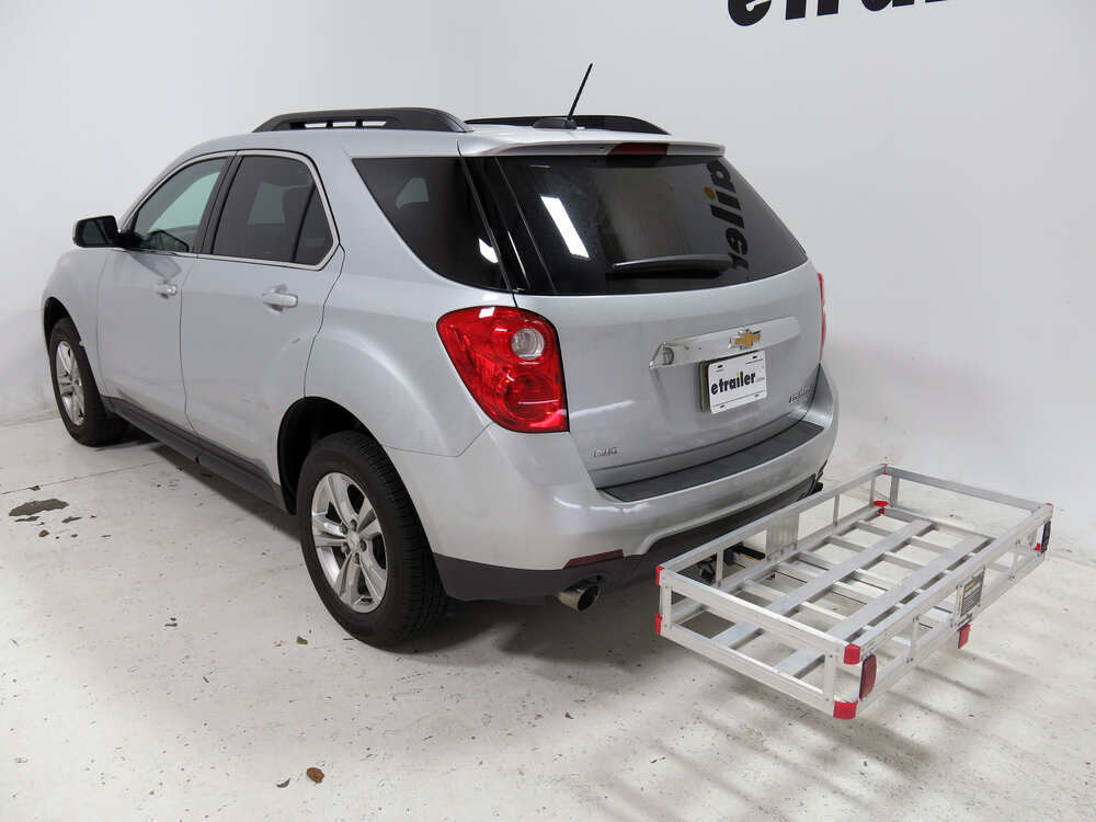 2015 chevrolet equinox 20x47 maxxtow cargo carrier for 2 hitches aluminum 500 lbs. Black Bedroom Furniture Sets. Home Design Ideas