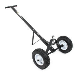 "MaxxTow Trailer Dolly with 1-7/8"" Hitch Ball - Black Powder Coated Steel - 600 lbs"