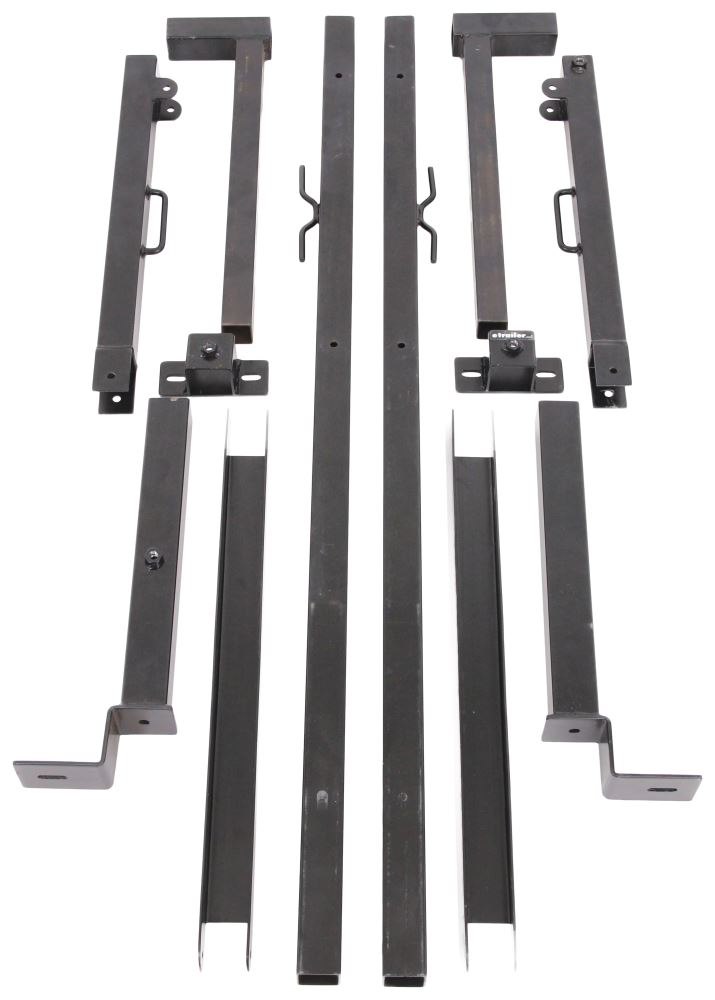 Maxxhaul Side Mount Truck Bed Ladder Rack 250 Lbs