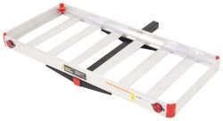 "48"" x 21"" MaxxTow Cargo Carrier for 2"" Hitches - Aluminum - 500 lbs"
