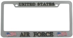 Flags And Military Air Force License Plates And Frames Etrailercom