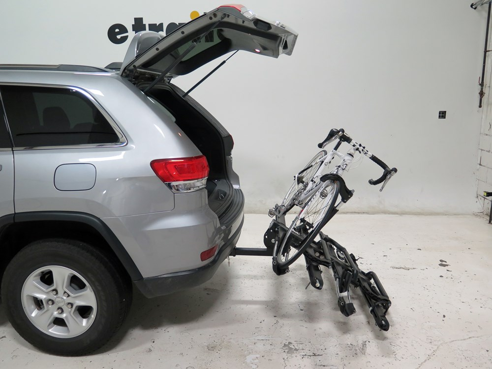 jeep grand cherokee kuat nv 4 bike platform rack 2 hitches wheel mount aluminum tilting. Black Bedroom Furniture Sets. Home Design Ideas