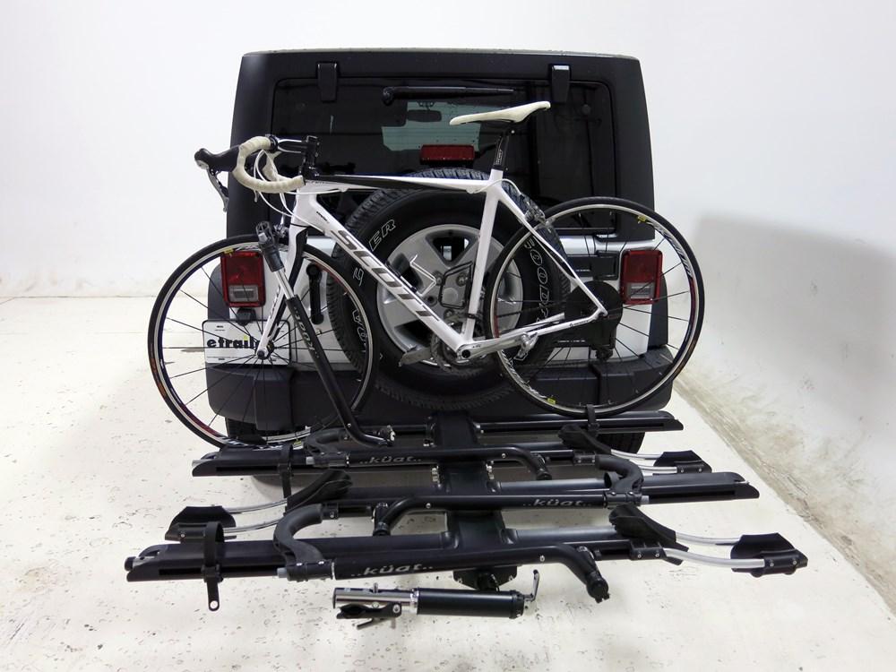 2015 Jeep Wrangler Unlimited Kuat Nv 4 Bike Platform Rack