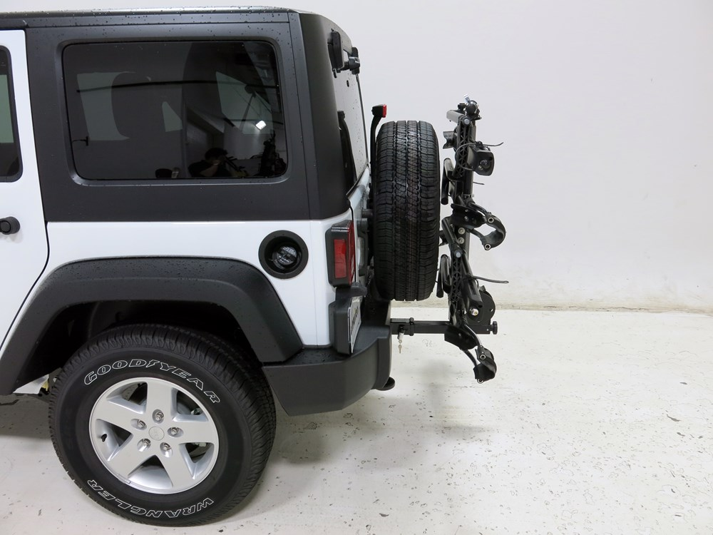 2015 Jeep Wrangler Unlimited Kuat Nv 4 Bike Platform Rack