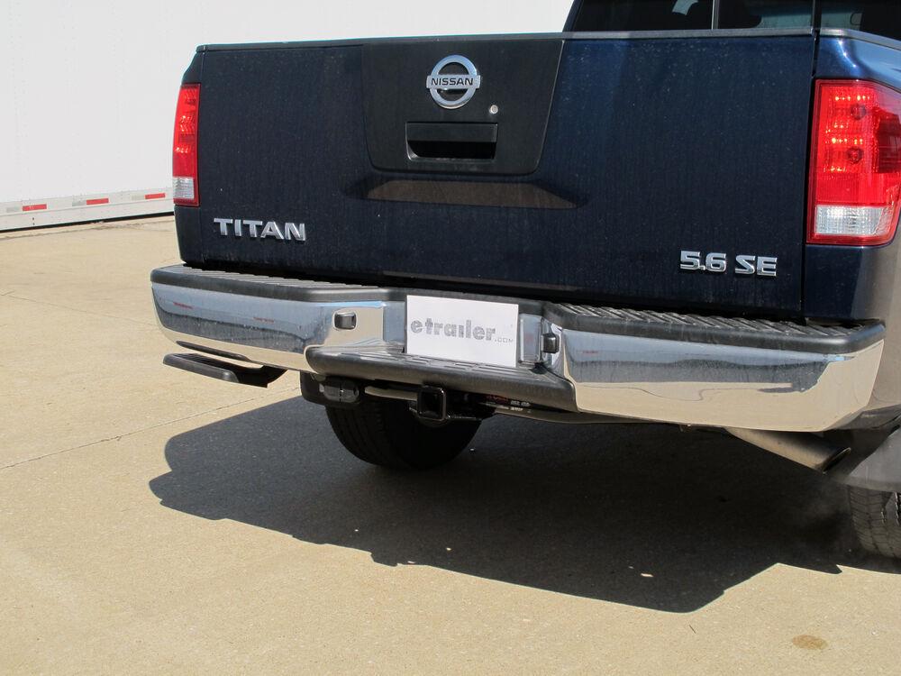Trailer Wiring Harness Nissan Armada : Nissan titan xd custom fit vehicle wiring hopkins