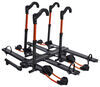 "Kuat NV 2.0 4-Bike Platform Rack - 2"" Hitches - Tilting - Gunmetal Gray"