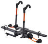 "Kuat NV 2.0 2-Bike Platform Rack - 2"" Hitches - Aluminum - Tilting - Gunmetal Gray"
