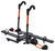 kuat hitch bike racks platform rack electric bikes carbon fiber heavy nv 2.0 2-bike - 2 inch hitches tilting gunmetal gray