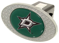"Dallas Stars 2"" NHL Trailer Hitch Receiver Cover - Zinc"