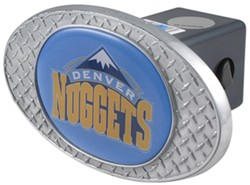 Denver Nuggets 2&quot; NBA Trailer Hitch <strong>Receiver</strong> Cover - Zinc - OHCC2207