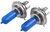 putco vehicle lights dot compliant h4 pure high-performance halogen headlight bulbs - nitro blue