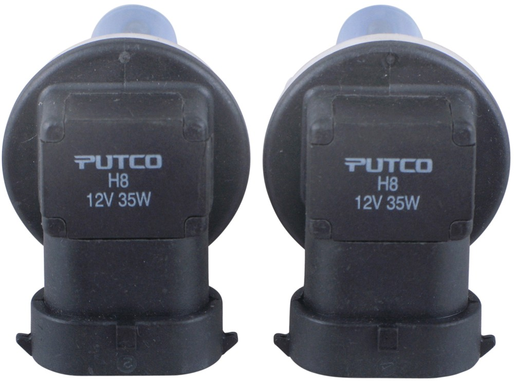 Putco Pure High Performance H8 Halogen Headlight Bulbs