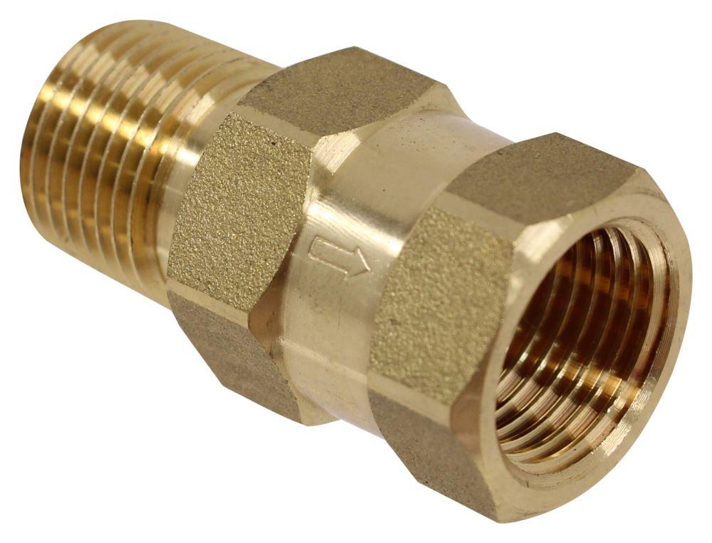 valterra check valve 1 2 mpt x fpt brass valterra rv fresh water p23402lfvp. Black Bedroom Furniture Sets. Home Design Ideas