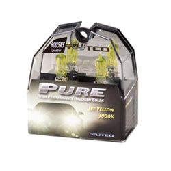 Putco PURE High-Performance 9005XS Halogen Headlight Bulbs - Jet Yellow