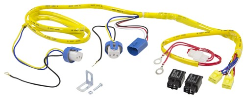 P239007HW_500 putco heavy duty harness and relay for 9007 halogen bulbs putco putco wiring harness at crackthecode.co