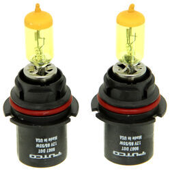 Putco PURE High-Performance 9007 Halogen Headlight Bulbs - Jet Yellow