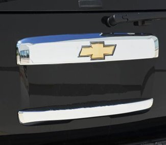 Putco Chrome Rear Hatch Handle Covers For Chevy Tahoe