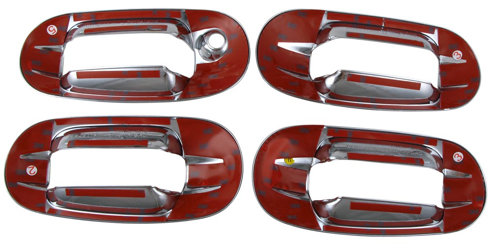 Putco Chrome Door Handle Covers For Lincoln Navigator Surrounds Only Putco Vehicle Trim P401004