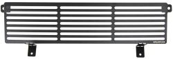 Putco Bar Style Bumper Insert - Stainless Steel - Black